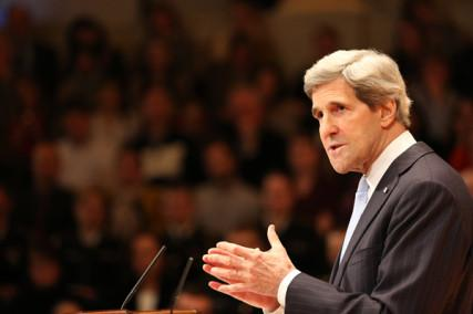 Secretary of State John Kerry, Photo courtesy U.S. State Department.