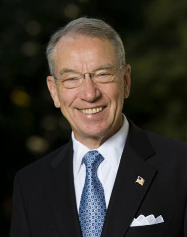 Senator Chuck Grassley of Iowa. Credit: RNS photo courtesy Sen. Chuck Grassley's