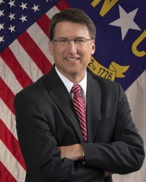 Gov. Pat McCrory of North Carolina