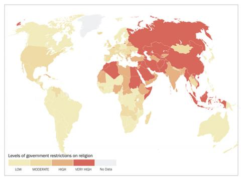 5 3 Billion People Face Harsh Religious Freedom Restrictions