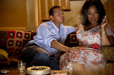 "Terrence Howard and Oprah Winfrey in a scene from ""Lee Daniels' 'The Butler.'"" P"