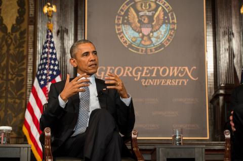 Photo via Georgetown University / RNS
