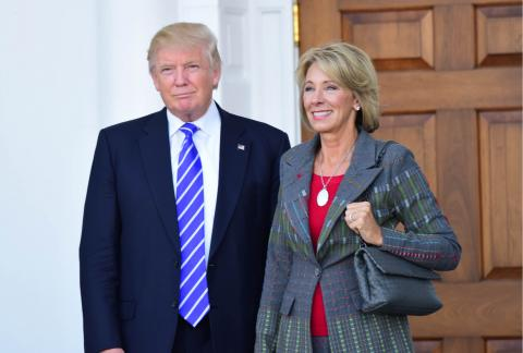 DeVos expected to share plans on Title IX enforcement