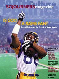 Sojourners Magazine January-February 2001