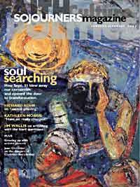 Sojourners Magazine January-February 2002