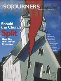 Sojourners Magazine February 2004