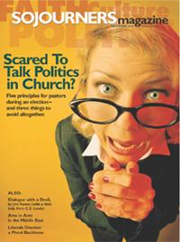 Sojourners Magazine September 2004