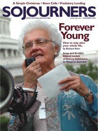 Sojourners Magazine December 2007