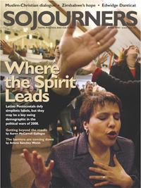 Sojourners Magazine April 2008