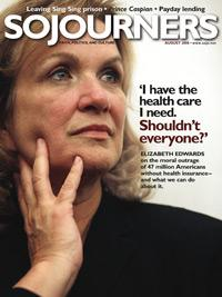 Sojourners Magazine August 2008
