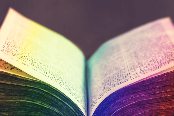 Six biblical passages referring to homosexuality
