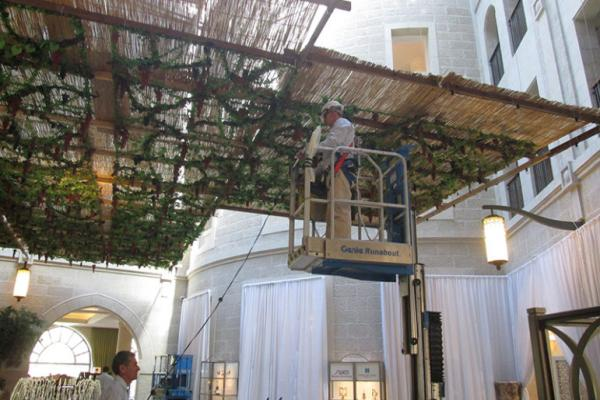 Why Israel's Waldorf Astoria Is Designed for Sukkot | Sojourners