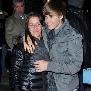 Justin Bieber and his mom, Pattie Mallette, in NYC last year. (Getty Images)