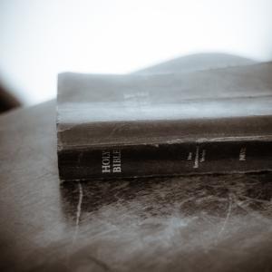 Worn Bible, via CreationSwap.com