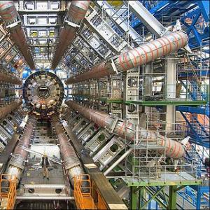 Large Hadron Collider (particle accelerator) at CERN. Image via http://www.wyli