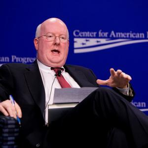 Shaun Casey speaks at the Center for American Progress. Photo via RNS/flickr.