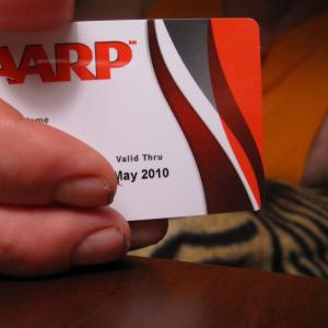 AARP card, via Durham Moose / Flickr