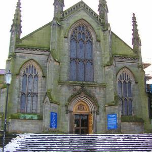 St. Mary's Roman Catholic Cathedral in Edinburgh, Scotland.
