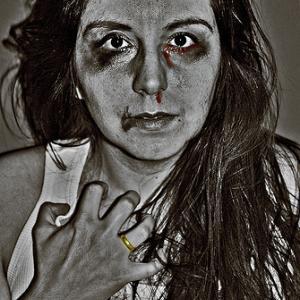 """Domestic Violence."" Illustration by Ira Gelb via Wylio http://bit.ly/x8IjOo."
