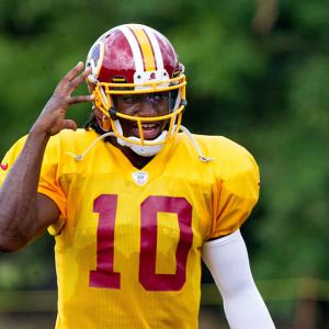 Washington's new quarterback: Robert Griffin III