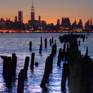 Sunrise over New York City. Image via Wiki Commons (http://bit.ly/HRlswn).