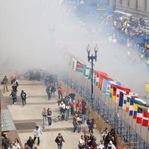 Boston Marathon bombing, hahatango / Flickr.com