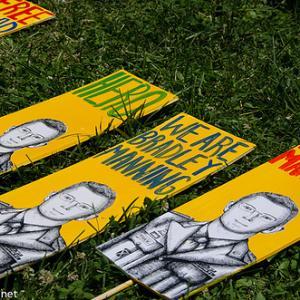 Free Bradley Manning rally, photo by cool revolution / Flickr.com