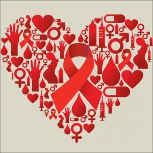 HIV / AIDS icon illustration, Cienpies Design / Shutterstock.com