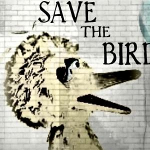 SAVE THE BIRD meme by Cathleen Falsani for Sojourners.