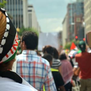 Anti-violence march Saturday Aug. 2 in Washington, D.C. Photo by Kevin Sakaguchi