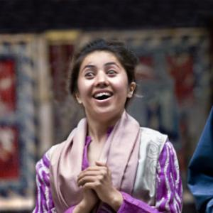 "Farzana performs in ""A Comedy of Errors.""Photo courtesy of Kathy Kelly."