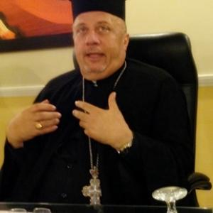 Fr. Nabil Haddad, photo from Cynthia J. Martens