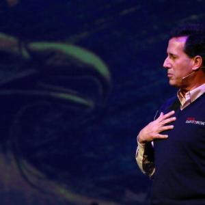 Rick Santorum campaigns ahead of the S.C. primary. Getty images.