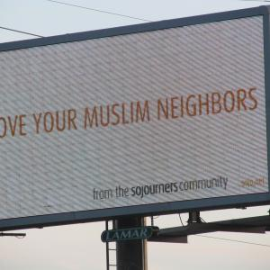 Sojourners billboard in Joplin, Mo. Photo by Rev. Jill Cameron Michel