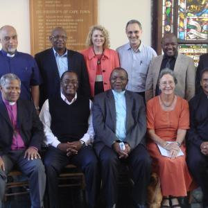 Key members of the SA Kairos Committee with two senior ANC representatives. (Pho