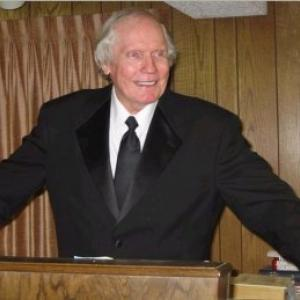 Fred Phelps at his pulpit, Public Domain via Wikimedia Commons