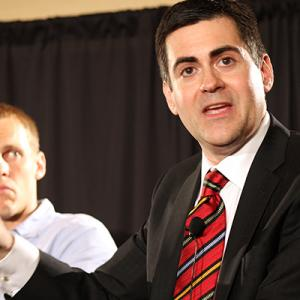 Ethics & Religious Liberty Commission President Russell Moore leads a panel disc