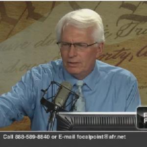 Screenshot of Bryan Fischer's webcast