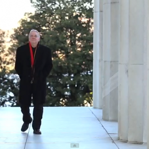 Jim Wallis at the Lincoln Memorial. Photo by Brandon Hook / Sojourners