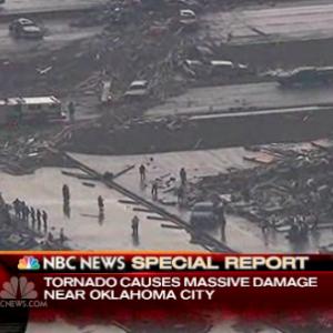 NBC News report of Oklahoma tornado damage