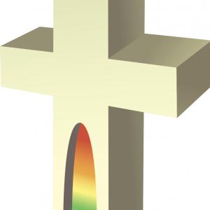 Vector image of cross. Photo courtesy zzveillust/shutterstock.com