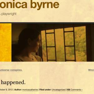Monica Byrne's blog