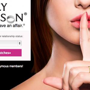 AshleyMadison.com homepage