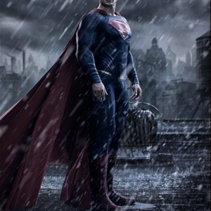 Superman. Image via 'Batman v Superman: Dawn of Justice' Instagram feed.