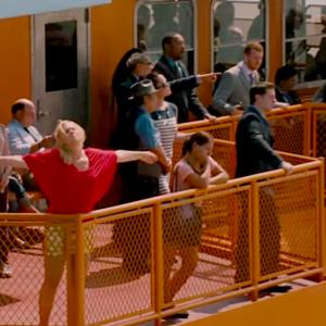 Screenshot, trailer for 'Trainwreck'/YouTube