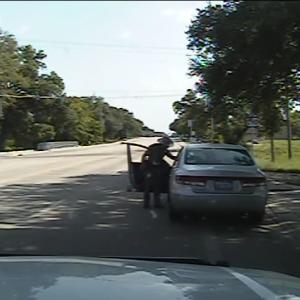 Screenshot from arrest video