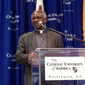 Ghana's Cardinal Peter Turkson. Photo by Dawn Araujo / Sojourners