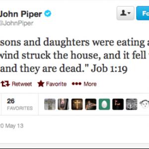 John Piper's Tweet