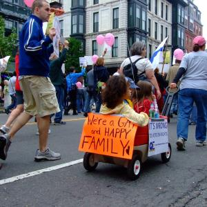 Gay and happy family. Image via Wiki Commons http://bit.ly/v9yizi
