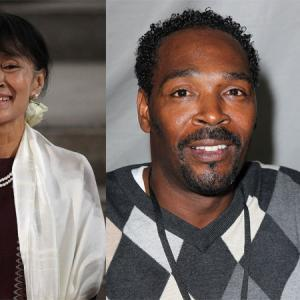 Aung Sun Suu Kyi photo, Dan Kitwood/Getty Images; Rodney King photo David Living